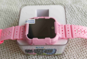 часы kt12 розовые