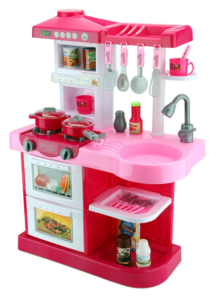 Детская кухня розовая со светом и звуком в Челябинске
