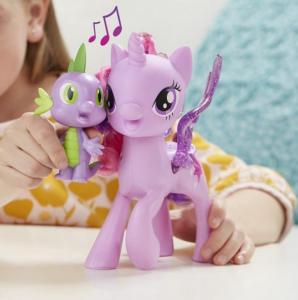 Игровой набор Май Литл Пони - Поющая Твайлайт Спаркл и Спайк