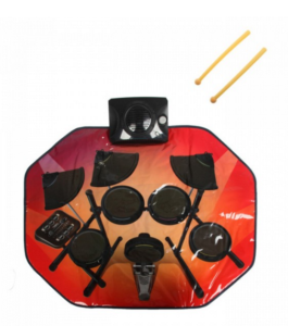 Музыкальный сенсорный коврик барабанщик барабаны барабан