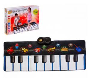 Музыкальный коврик синтезатор пианино музыкальная минутка