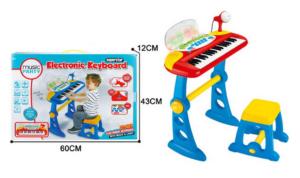 Детский Синтезатор со стульчиком , микрофоном и MP3
