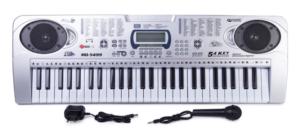 Синтезатор с микрофоном и наушниками 5499