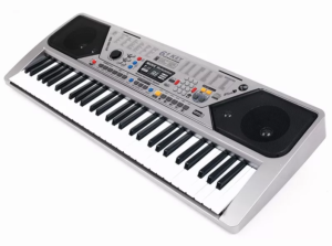Синтезатор с микрофоном и радио, полноразмерные 61 клавиша