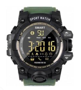 Умные спортивные часы GSMIN EX16S Зелёные