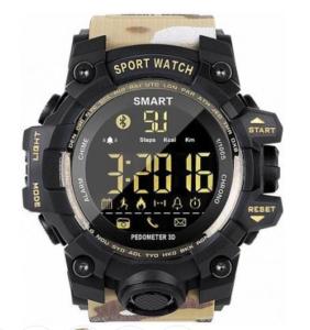 Умные часы GSMIN EX16S (Коричневый камуфляж)