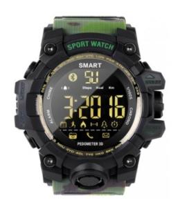 Умные часы Smart Watch EX16S GSMIN зелёный камуфляж