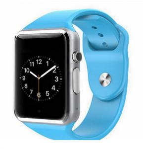 Умные часы Smart Watch A1 GSMIN голубые