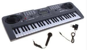 Синтезатор пианино mq808 с микрофоном