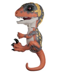 Динозавр Fingerlings Untamed интерактивный Dino Блейз Блэйз коричневый с жёлтым на палец робот 3781