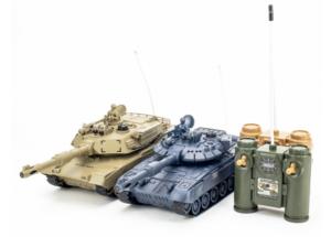 Танки на пульте радиоуправлении Pilotage (Пилотаж) РУ 1:24 T90 VS M1A2 2шт RC18384