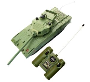 Танк на пульте радиоуправлениии Армия России РУ Армата Т-14 ВТА14