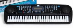 Синтезатор 54 клавиши Соната чёрный