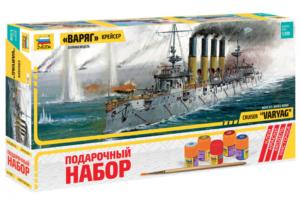 Подарочный набор со сборной моделью Крейсер Варяг