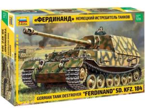 Немецкий истребитель танков - Фердинанд, 1:35 ЗВЕЗДА
