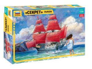 Модель корабля Галеон Секрет Звезда