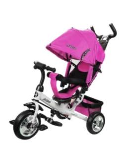 Трехколесный Велосипед Comfort, розовый