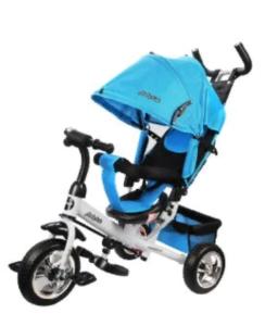 Трехколесный Велосипед Comfort, голубой