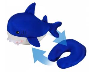 Подушка-вывернушка антистресс акула